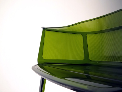 Papyrus Chair 2008 Polycarbonate injecté Edition Kartell Italie Collection Kartell3