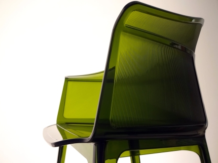 Papyrus Chair 2008 Polycarbonate injecté Edition Kartell Italie Collection Kartell4