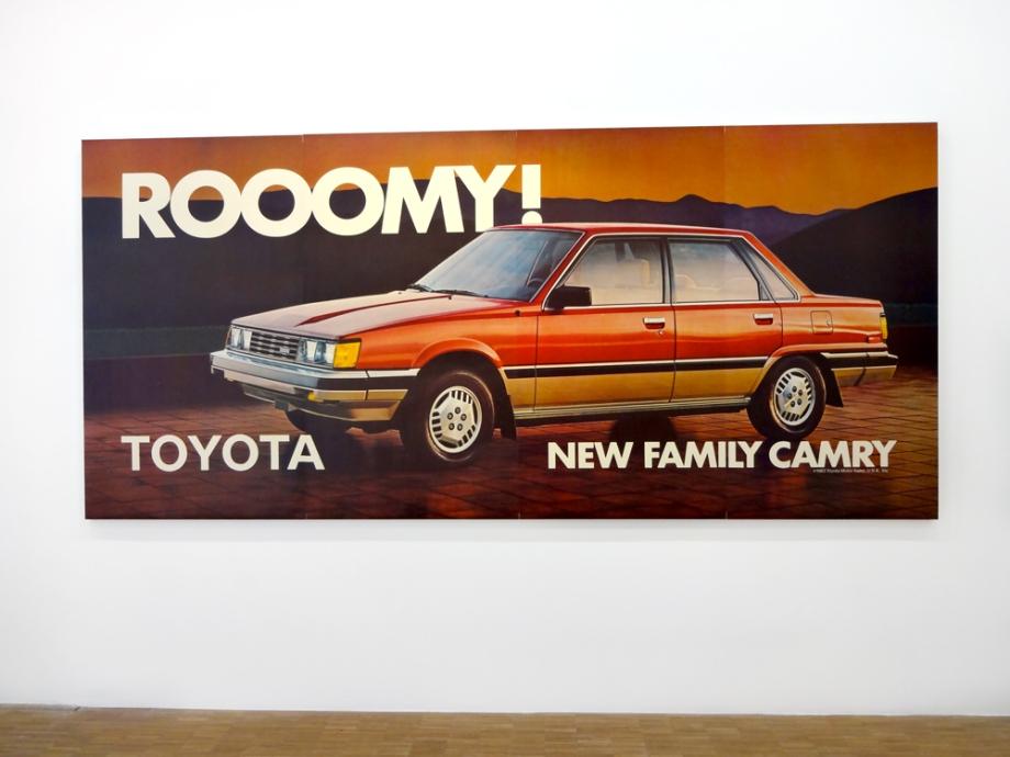 Jeff-Koons-4-New-Rooomy-Toyota-Family-Camry,1983